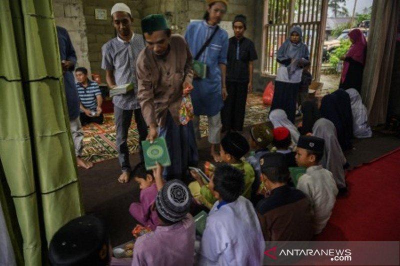 Taman pengajian anak di buka kembali