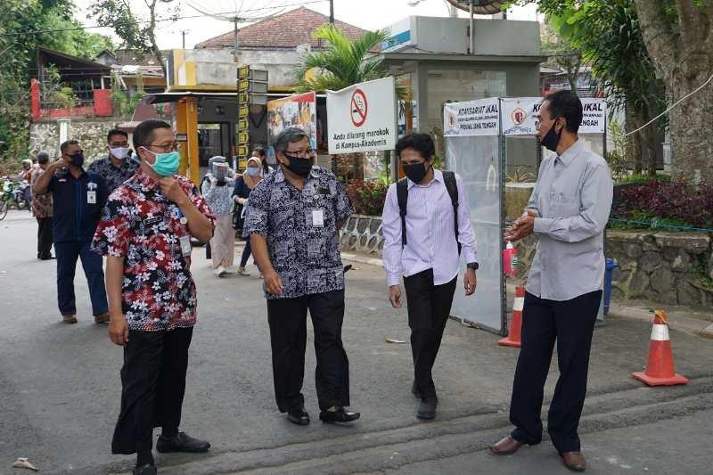 Peserta UTBK di Untidar Magelang wajib kenakan pelindung muka