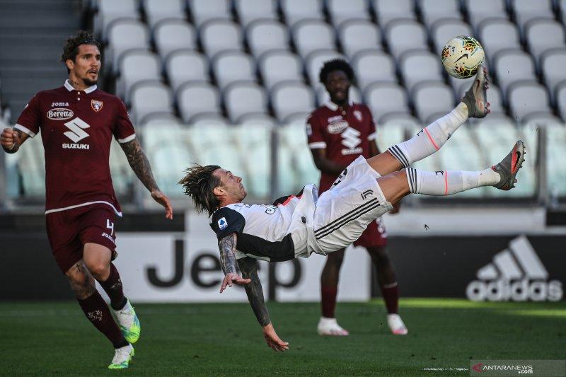 Hasil dan klasemen Liga Italia, Juventus unggul tujuh poin