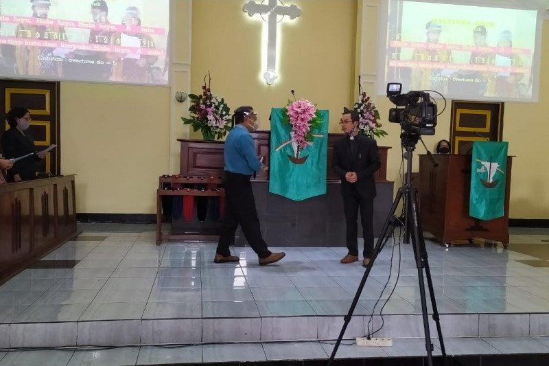 Gereja Purbalingga mulai gelar ibadah tatap muka