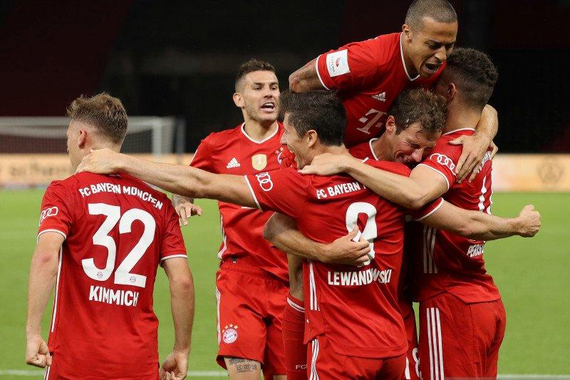 Bayern raih gelar keduanya musim ini setelah juarai Piala Jerman