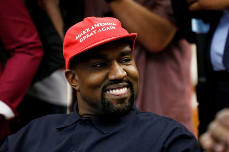 Selebirits Kanye West akan calonkan diri jadi presiden AS pada pemilu 2020