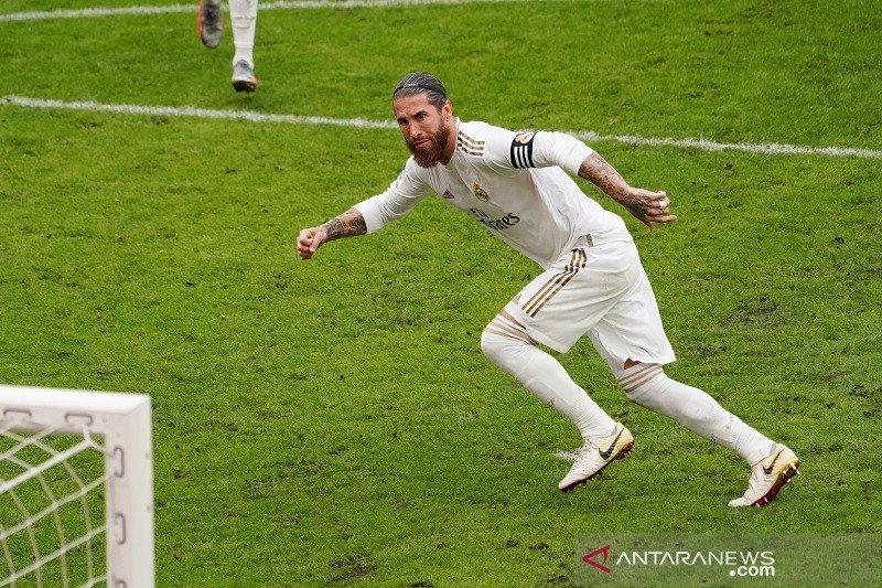 Real Madrid menang berkat tendangan penalti
