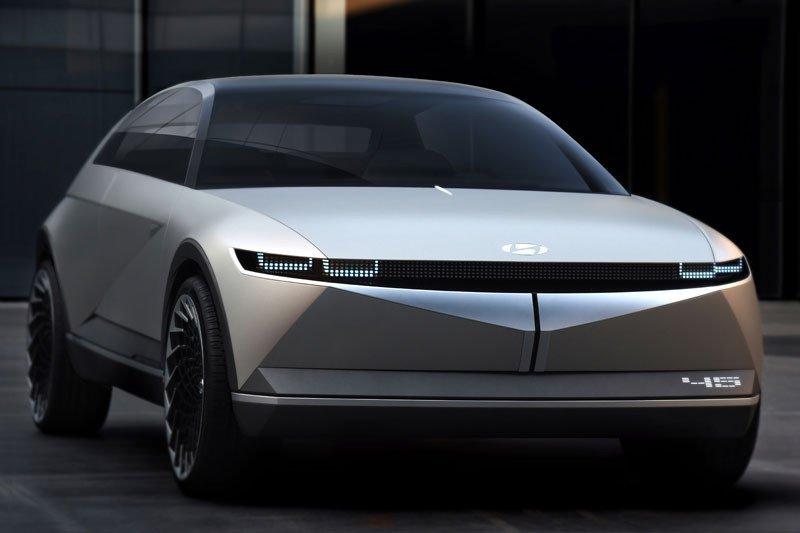 Hyundai pamerkan mobil listrik konsep 45