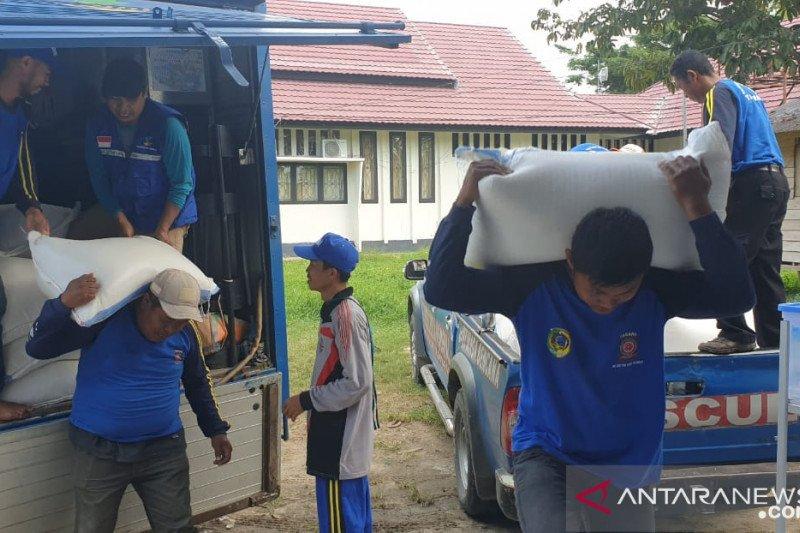 Pemda salurkan 13 ton beras untuk ODP dan PDP corona di Parigi Moutong