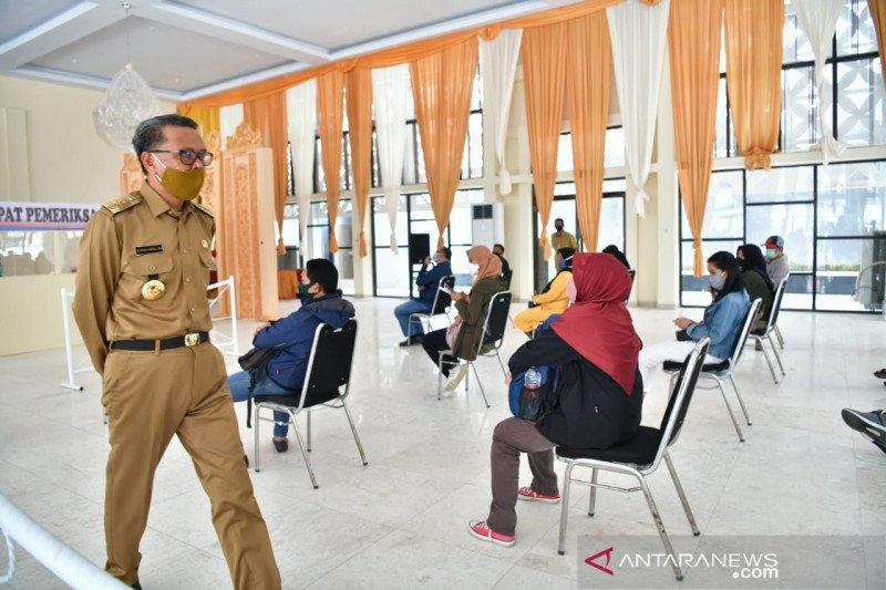 Gubernur Sulsel : Pendaftaran tes cepat gratis melalui daring