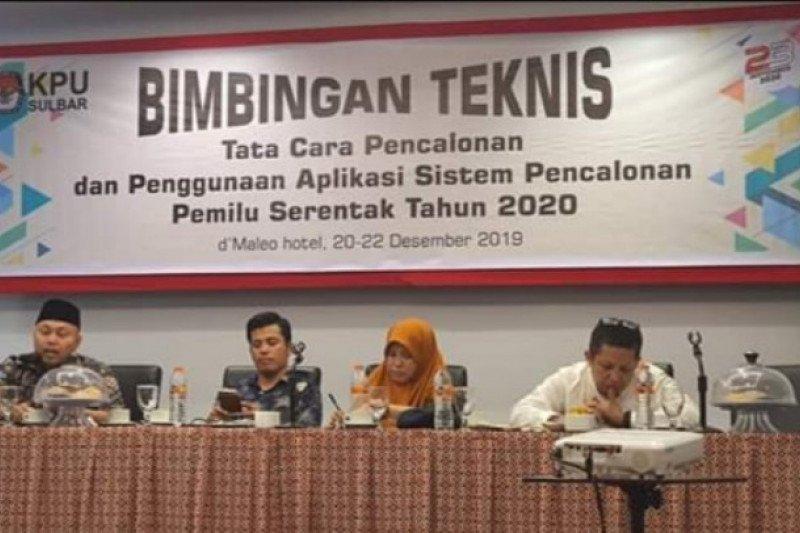 KPU Sulbar sebut hanya satu calon perseorangan di Pilkada Serentak 2020