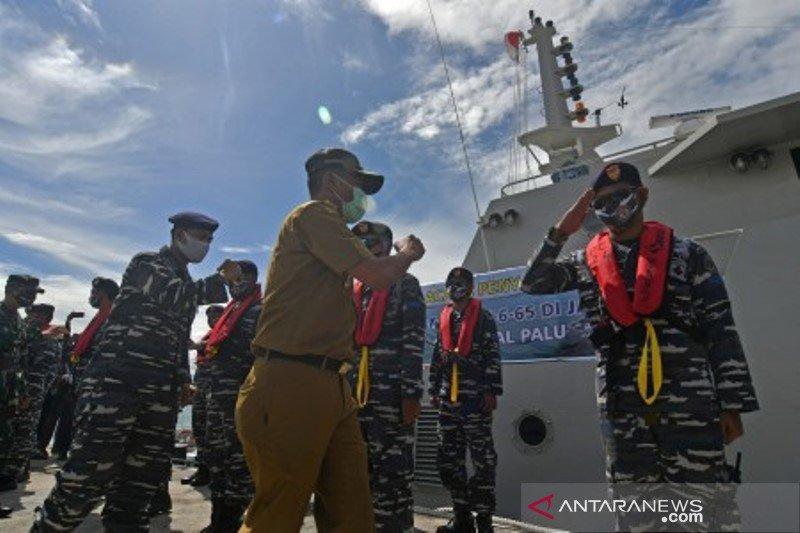 Kapal perang KAL Talise perkuat Lanal Palu