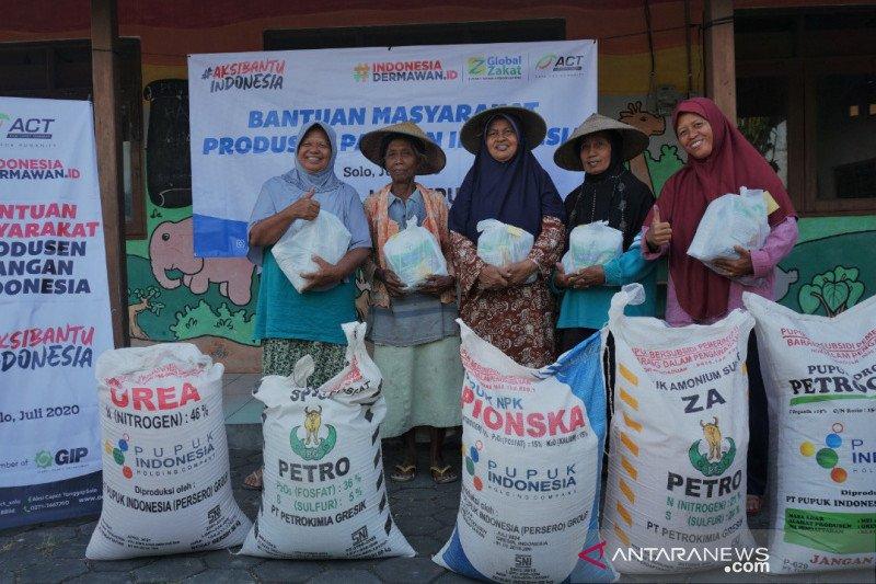 ACT sentuh kalangan petani  pada program bantuan di masa pandemi