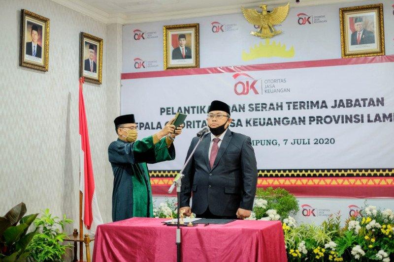 Bambang Hermanto jabat Kepala OJK Lampung