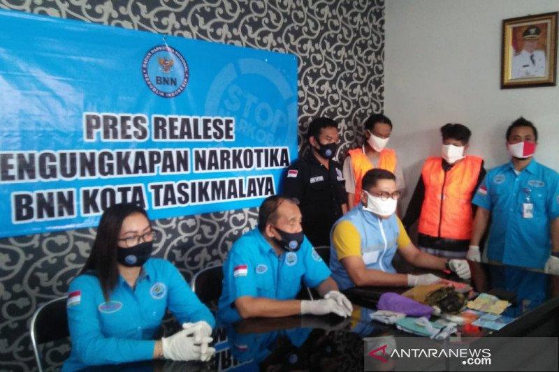 BNN ungkap peredaran ganja dan sabu-sabu di Kota Tasikmalaya