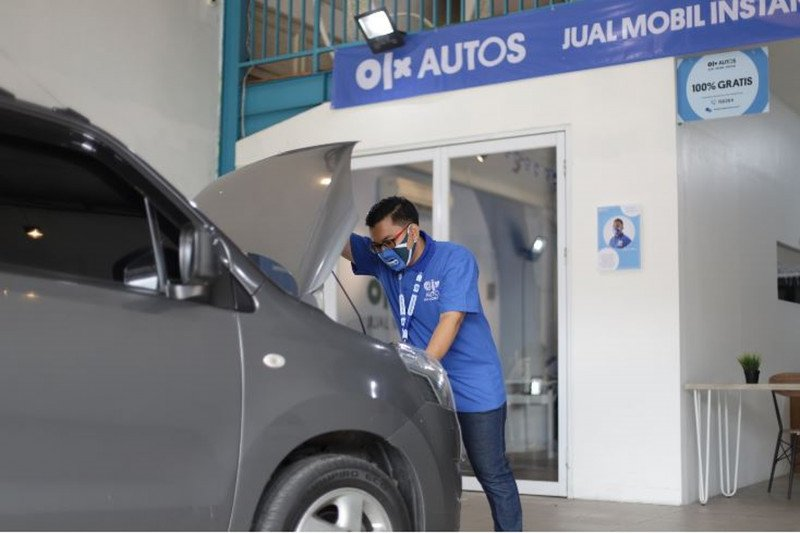 Jual mobil online secara instan melalui OLX Autos