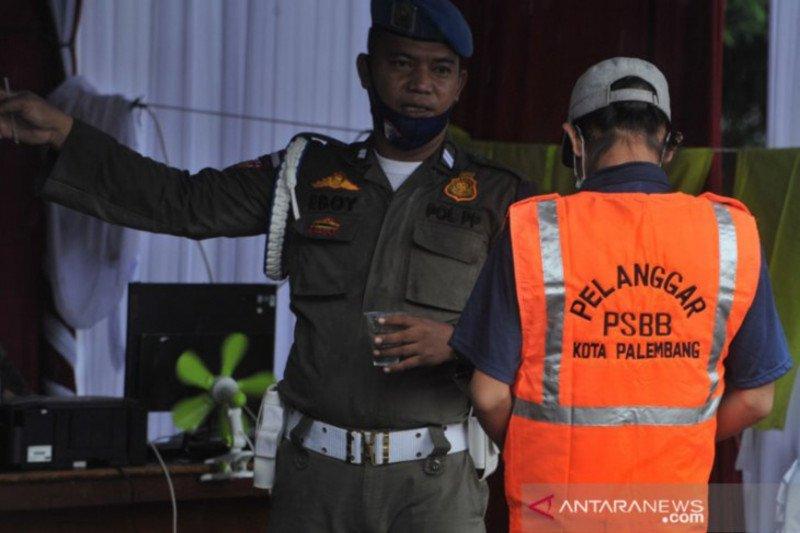 Gugus tugas Sumsel tegaskan penetapan PSBB Palembang wewenang wali kota