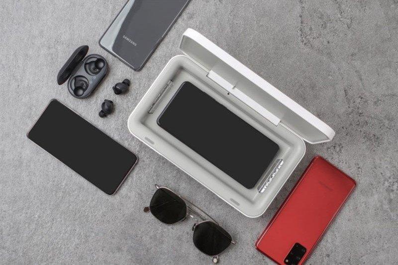 Aksesori Samsung ini bisa bersihkan ponsel dari bakteri dan kuman