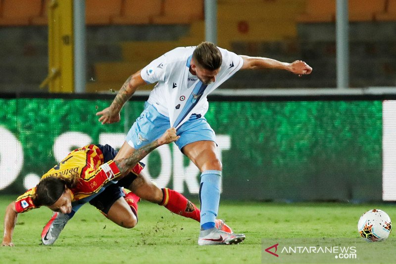 Lazio tersungkur 1-2 di markas Lecce 1-2