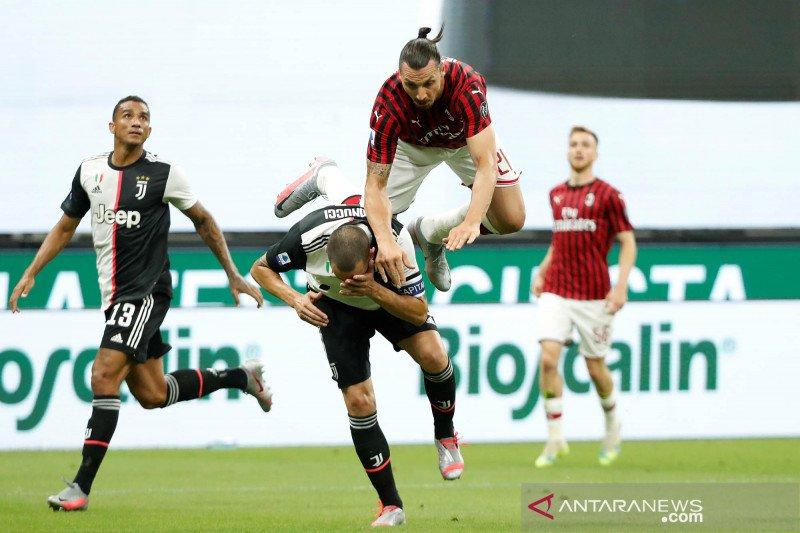 Juventus tergelincir di San Siro, takluk dari Milan