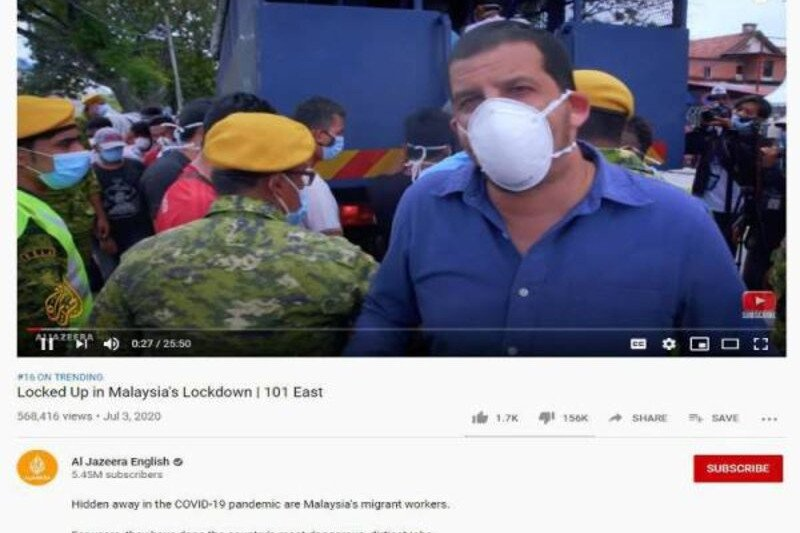 Polisi Malaysia memanggil Al Jazeera