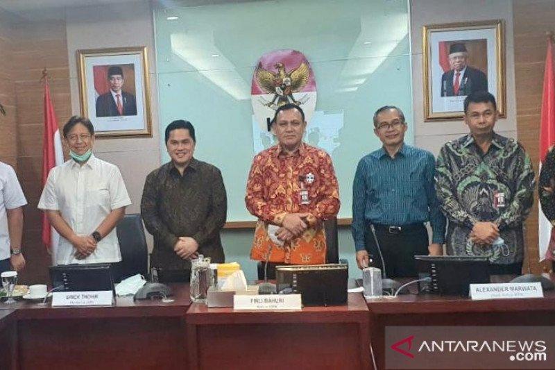 Menteri BUMN minta pendampingan KPK kawal program PEN
