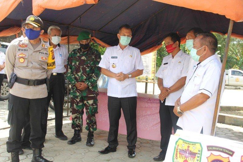 Tim Gugus Tugas COVID-19 Gumas bangun posko di Kuala Kurun