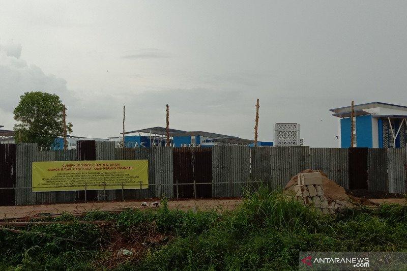 Sengketa lahan, pembangunan kampus B UIN Palembang tetap berjalan