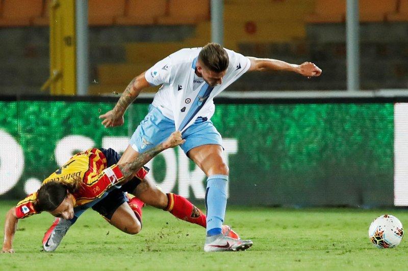 Lazio ditaklukkan Lecce dengan skor 1-2