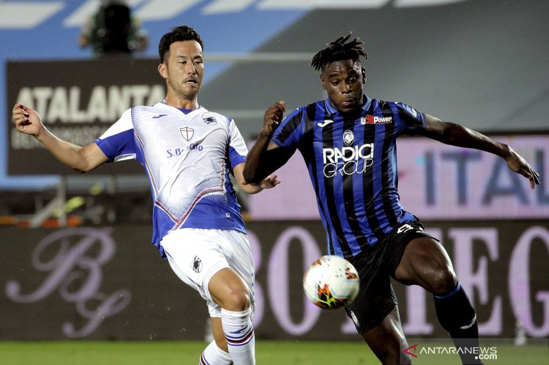 Atalanta catat kemenangan kesembilan beruntun untuk rebut posisi tiga liga Italia