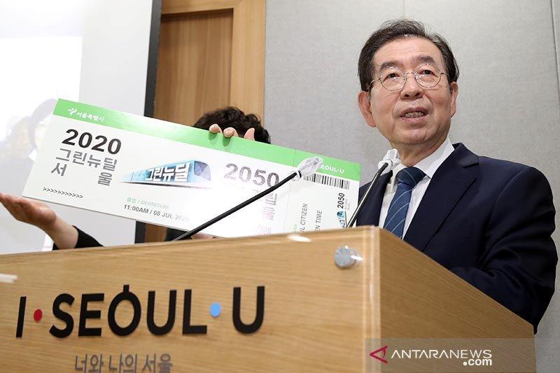 Wali kota Seoul ditemukan meninggal setelah dilaporkan hilang