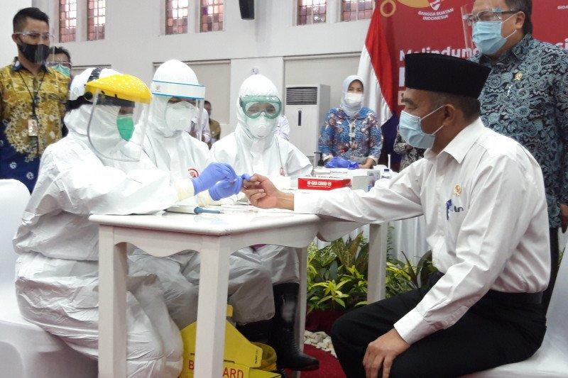 Indonesia luncurkan tes cepat COVID-19 karya anak bangsa