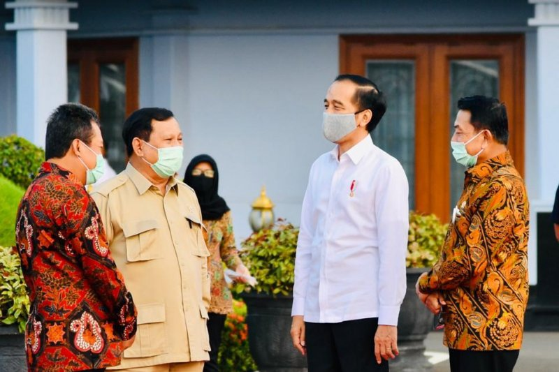 Presiden ke Kalteng tinjau Posko Penanganan COVID-19