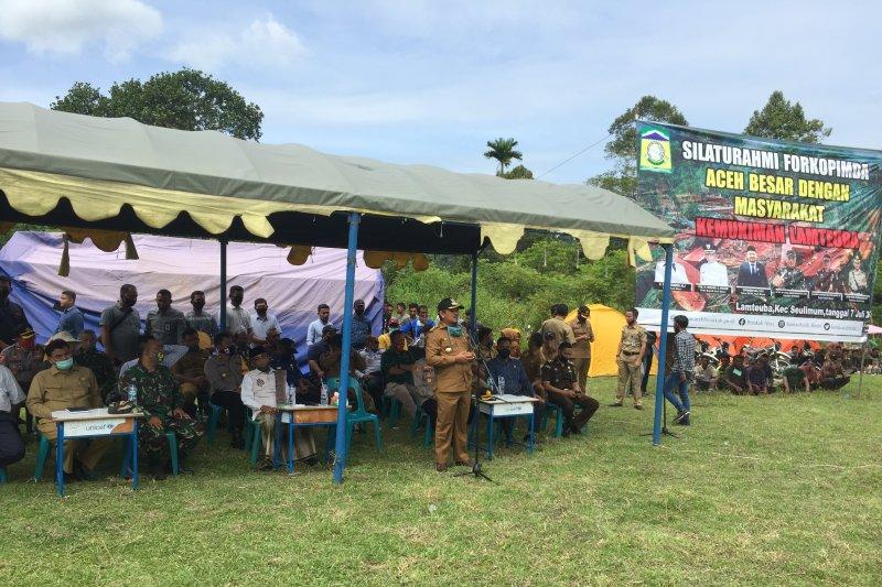 Bersama Menjaga Gunung Seulawah Agam Antara News