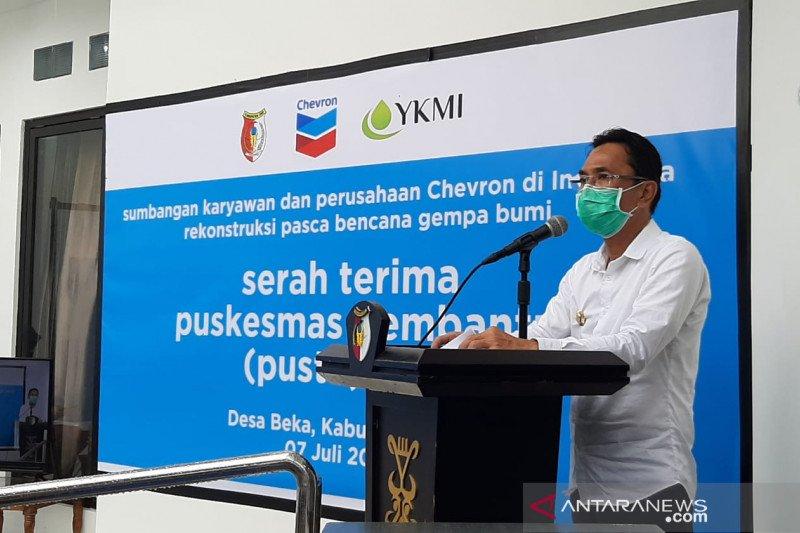 Chevron-YKMI  bangun Pustu percepat penanganan kesehatan di Sigi