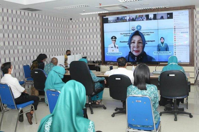 Hadapi Pandemi, PKK Kaltara Gagas Pembinaan Virtual