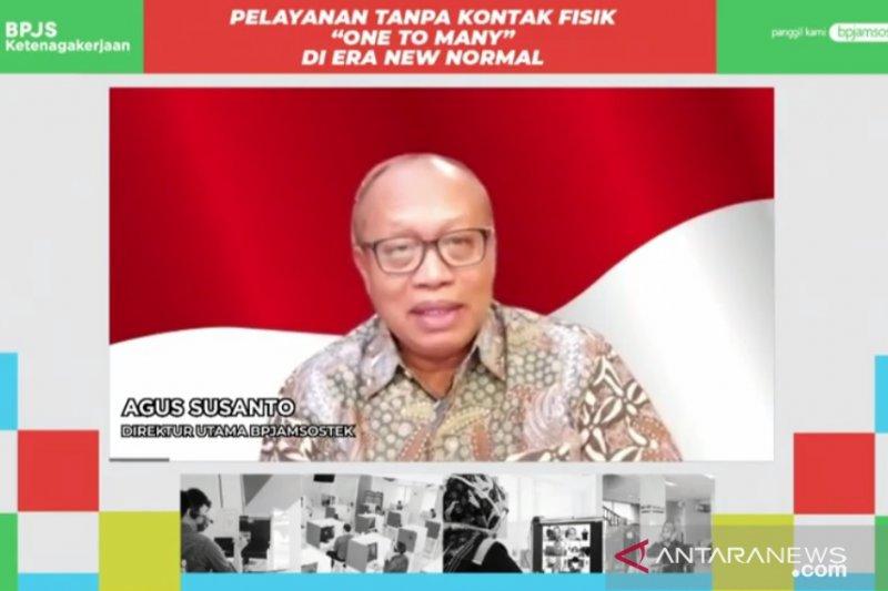 BPJAMSOSTEK Palangka Raya terapkan 'Lapak Asik' cegah COVID-19