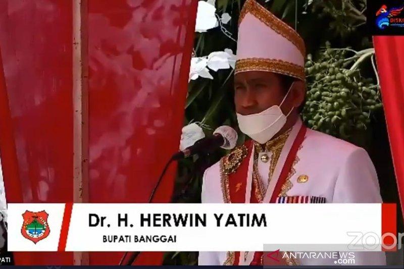 HUT ke-60 Banggai, Bupati ajak 'stokeholder' jaga kearifan lokal