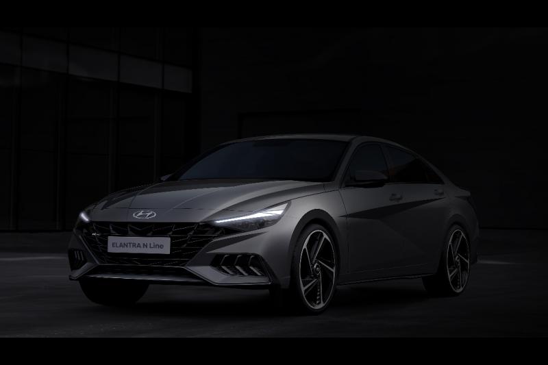 Hyundai pamerkan desain baru Elantra N Line