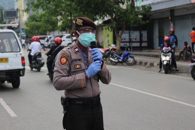 Polda Papua terus imbau tatanan normal baru kepada warga