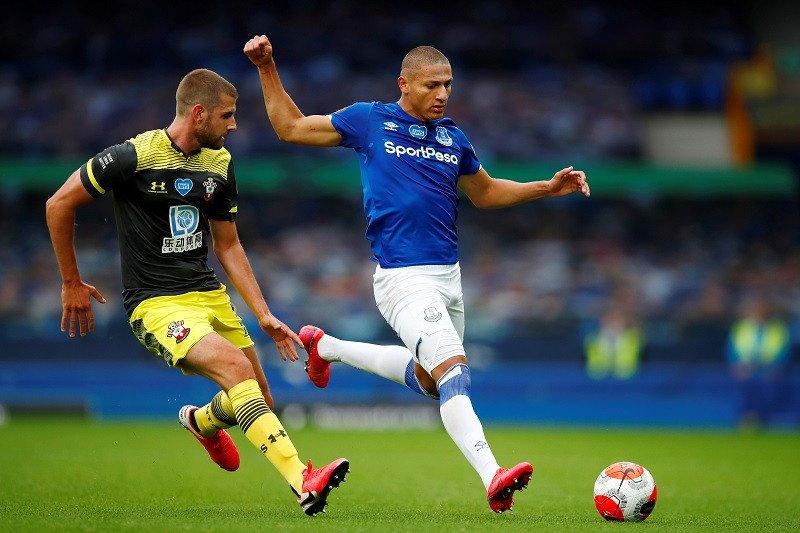 Everton berbagi poin dengan Southampton di Goodison Park