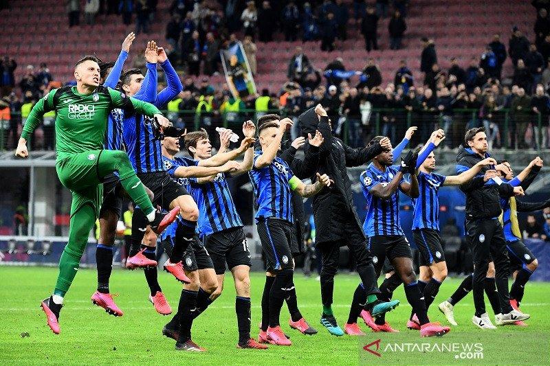 Hasil undian perempat final Liga Champions,  Atalanta tantang PSG