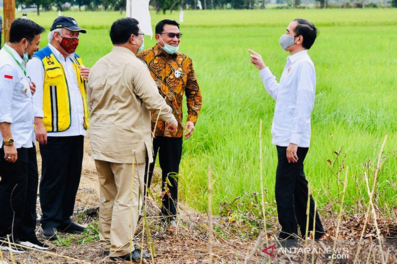 Indonesian farmers encouraged farmers to develop integrated farming
