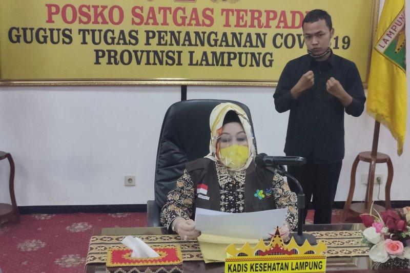 Kabupaten Lampung Timur berubah jadi zona kuning