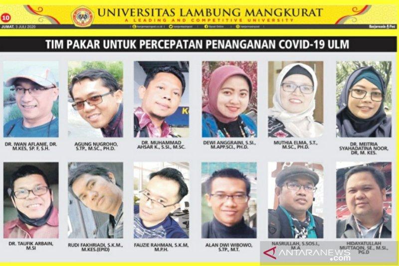 Tim Pakar ULM luncurkan situs web COVID-19