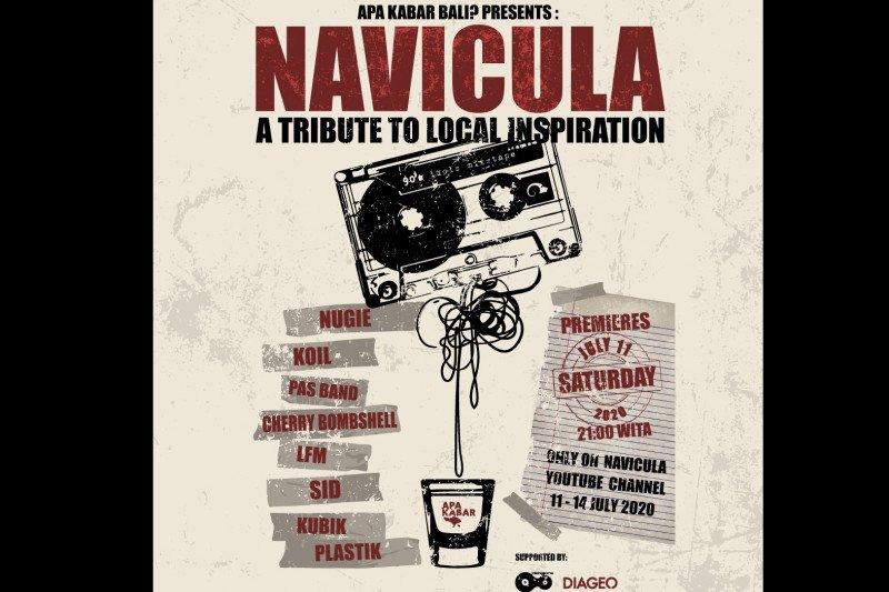 "Navicula konser virtual ""A Tribute to Local Inspiration"""