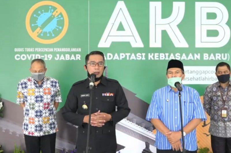 Gubernur Jabar minta maaf soal kasus COVID-19 di Secapa AD