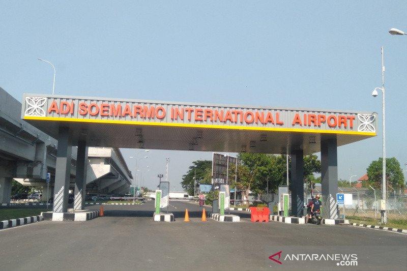 Bandara Adi Soemarmo melayani empat maskapai penerbangan