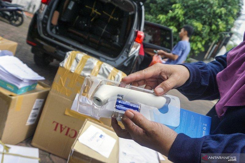 Bawaslu OKU distribusikan alat pelindung diri jelang Pilkada