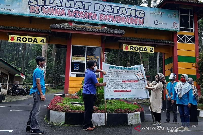 Terapkan tatanan normal baru, Wanawisata Baturraden dibuka kembali