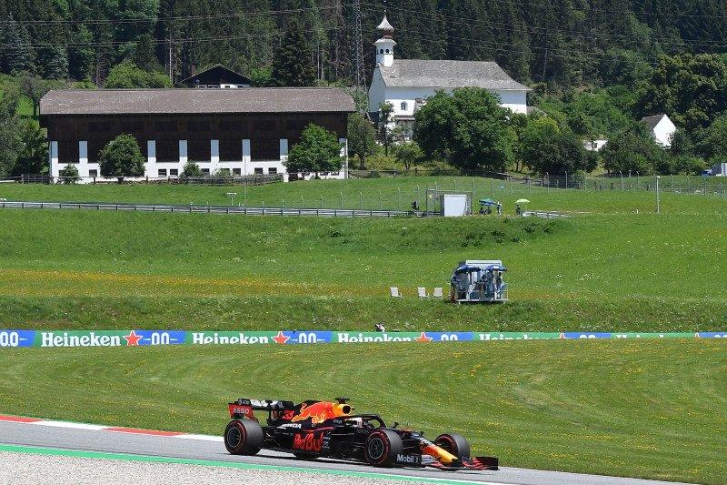 Verstappen puncaki sesi latihan bebas Grand Prix Styria, Ricciardo kecelakaan