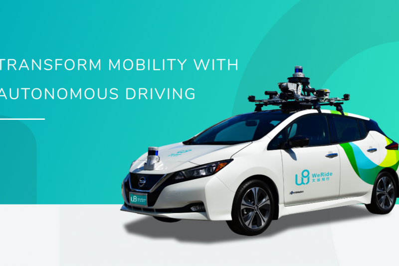WeRide jadi startup pertama yang uji coba kendaraan otonom di China