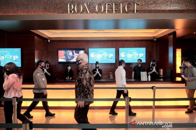Menparekraf pastikan setiap bioskop terapkan protokol kesehatan