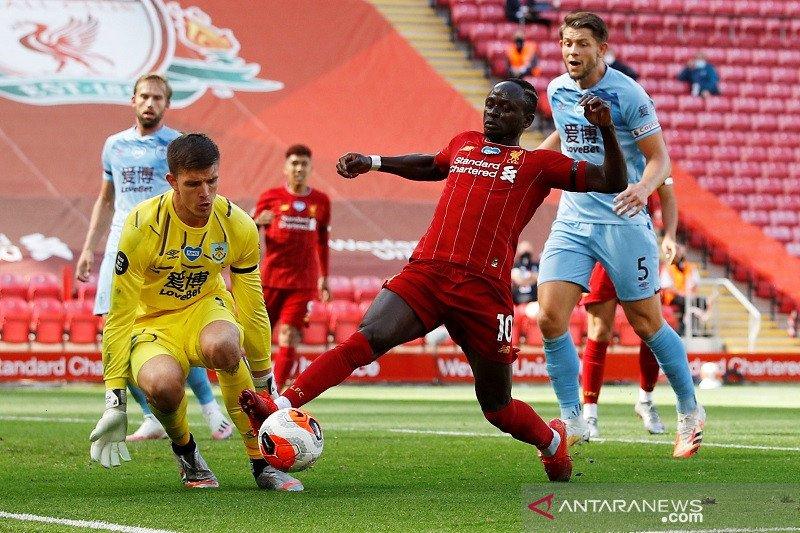 Burnley tahan imbang Liverpool di Anfield